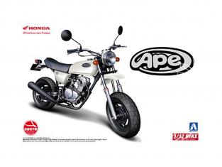 Aoshima maquette moto 51702 Honda APE50 1/12