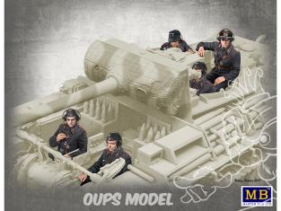 Master Box maquette militaire 35201 EQUIPAGE DE CHAR ALLEMAND 1944/1945 1/35
