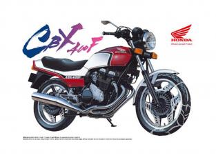 Aoshima maquette moto 41642 Honda CBX400F 1981 1/12