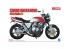 Aoshima maquette moto 55144 Honda CB400 Super Four avec Pièces Custom 1/12
