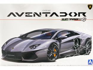 Aoshima maquette voiture 01424 Lamborghini Aventador LP700-4 1/24