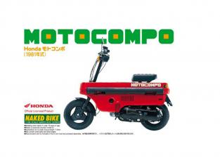 Aoshima maquette moto 47972 Honda Motocompo 1981 1/12