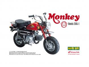 Aoshima maquette moto 48771 Honda Monkey Z50J-I 1978 1/12