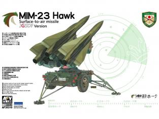AFV maquette militaire AF35310 MIM-23 Hawk SAM JDSDF Version 1/35