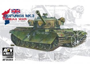 AFV maquette militaire AF35303 Centurion MK.3 guerre de corée 1/35