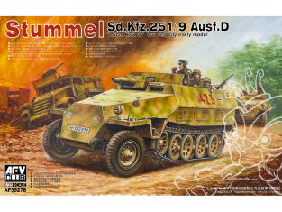AFV maquette militaire AF35278 Sd.Kfz. 251/9 Ausf. D early type 1/35