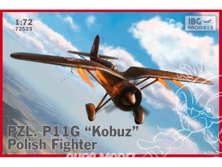 IBG maquette avion 72523 PZL P.11g Kobuz chasseur Polonais 1/72