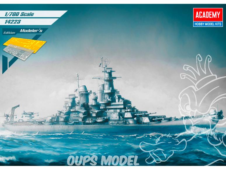 Academy maquette bateau 14401 USS Missouri BB-63 Modeler's Edition 1/400