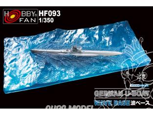 Hobby Fan accessoire bateau HF093 BASE DE VAGUES pour U-BOAT allemand 1/350