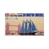 Aoshima maquette bateau 05714 Sir Winston Churchill 1/350