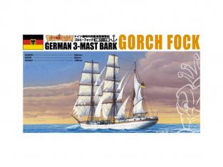 Aoshima maquette bateau 44285 Gorch Fock 1/350