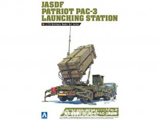 Aoshima maquette militaire 09956 JASDF Patriot PAC-3 Station de lancement 1/72