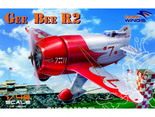Dora Wings maquette avion DW48001 Gee Bee R2 1/48