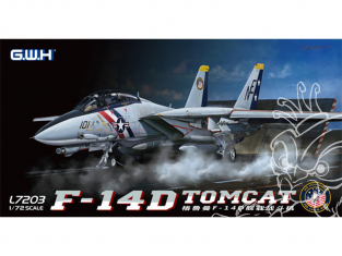 Great Wall Hobby maquette avion L7203 F-14D Tomcat 1/72