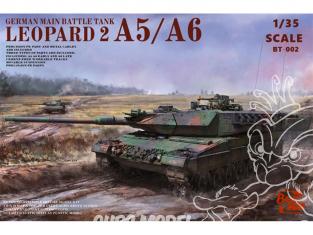 Border model maquette militaire BT-002 Leopard 2 A5 / A6 1/35