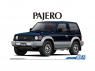 Aoshima maquette voiture 56974 Mitsubishi Pajero V24WG Top Wide XR-II 1991 1/24