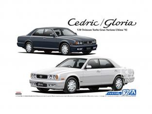 Aoshima maquette voiture 56523 Nissan Y32 Cedric / Gloria V30 Twincam Turbo Gran Turismo Ultima 1992 1/24