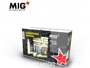 MIG Productions by AK MP35-415 Portail Européen 1/35