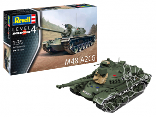 Revell maquette militaire 03287 M48 A2CG 1/35