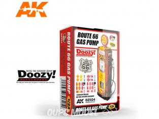 Ak Interactive Doozy DZ024 Pompe à Essence Route 66 1/24