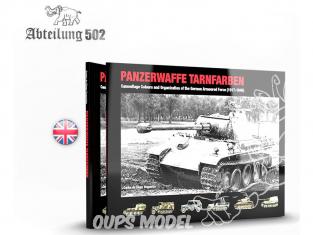 ABTEILUNG502 livre 722 Panzerwaffe Tarnfarben en Anglais