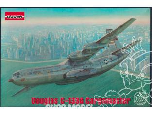 Roden maquette avion 333 Douglas C-133A Cargomaster 1/144