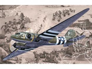 Roden maquette avion 300 Douglas C-47 Skytrain 1/144