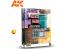 Ak Interactive livre Learning Series 9 AK257 Guide Ultime Comment faire des Batiments de Dioramas en Espagnol