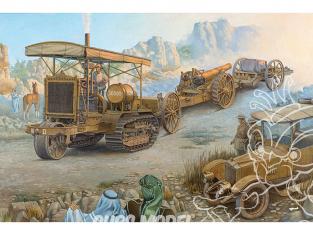 Roden maquette militaire 814 Holt 75 Tracteur d'artillerie avec obusier BL de 8 pouces 1/35