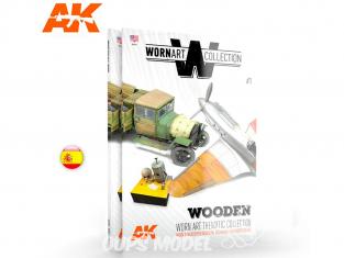 Ak Interactive livre Wornart Collection 1 AK4902 Bois en Espagnol