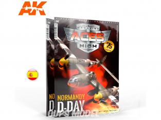 Ak interactive Magazine Aces High AK2934 N°16 Normandie D-Day en Espagnol