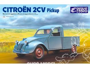 Ebbro maquette voiture 25004 CITROEN 2CV Pickup 1/24
