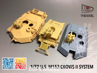 T-Model A72002 maquette militaire M153 System CrowsII 1/72