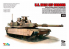 T-Model TK-7310 maquette militaire M1A2 SEP Abrams avec Tusk et M151 CrowsII 1/72