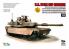 T-Model TK-7310S maquette militaire M1A2 SEP Abrams avec Tusk et M151 CrowsII inclus accessoires 1/72
