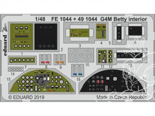 EDUARD photodecoupe avion FE1044 Zoom Intérieur G4M Betty Tamiya 1/48