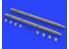 Eduard kit d'amelioration avion brassin 648506 AIM-132 ASRAAM 1/48