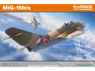 EDUARD maquette avion 7059 MiG-15Bis ProfiPack Edition 1/72