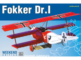 EDUARD maquette avion 8487 Fokker Dr.I WeekEnd Edition 1/48