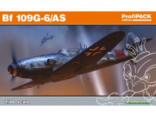 EDUARD maquette avion 82163 Messerschmitt Bf 109G-6/AS ProfiPack Edition 1/48