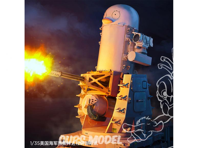 RPG-Model maquette militaire 35005 MK-15 Phalanx US Navy système de défense à courte portée à réseau dense 1/35