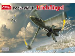 Amusing maquette avion 48A001 Focke-Wulf Triebflügel 1/48