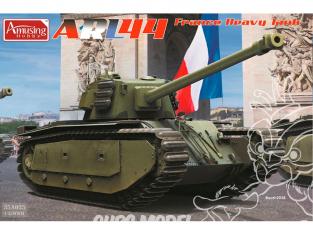 Amusing maquette militaire 35A025 ARL44 Char lourd Français 1/35
