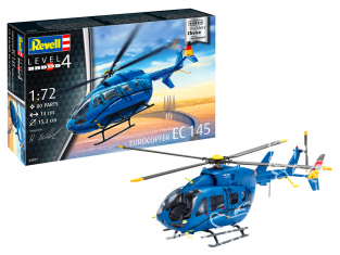 Revell maquette helicoptere 03877 EC 145 Builders' Choice 1/72