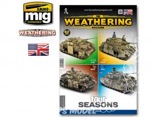 MIG magazine 4527 Numéro 28 Quatre saisons en Anglais