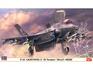 HASEGAWA maquette avion 02306 F-35 Lightning II (Type B) «Beast Mode» 1/72