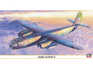 Hasegawa maquette avion 09845 Arado Ar234C-3 1/48