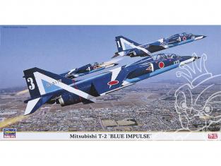 Hasegawa maquette avion 09636 Mitshubishy T-2 Blue Impulse 1/48