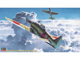 Hasegawa maquette avion 09137 Nakajima Ki44-II Ko SHOKI Tojo «Flying 85th Squadron» 1/48