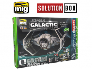 MIG Solution Box 7720 Imperial Galactic Fighters Couleurs et vieillissement - Livre